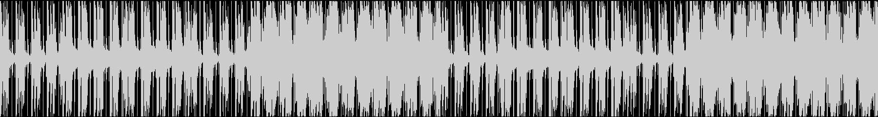 お洒落でクールなR&BテイストのBGMの未再生の波形