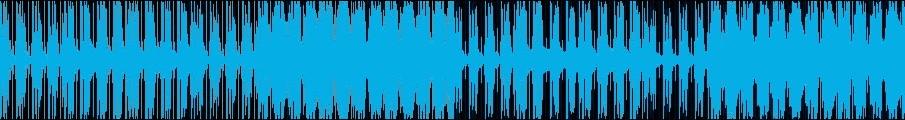お洒落でクールなR&BテイストのBGMの再生済みの波形