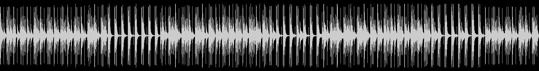 【ループ版】YouTube カリンバの未再生の波形