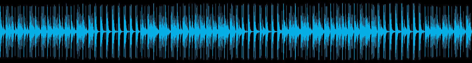 【ループ版】YouTube カリンバの再生済みの波形