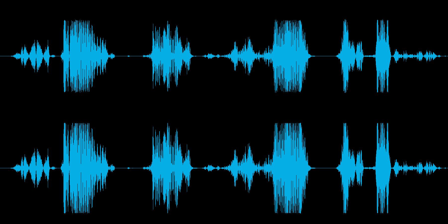 フィクション ロボット 欠陥ドロイド03の再生済みの波形