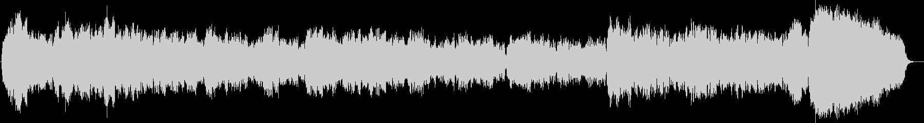 哀愁のあるバロック風オリジナル弦楽三重奏の未再生の波形