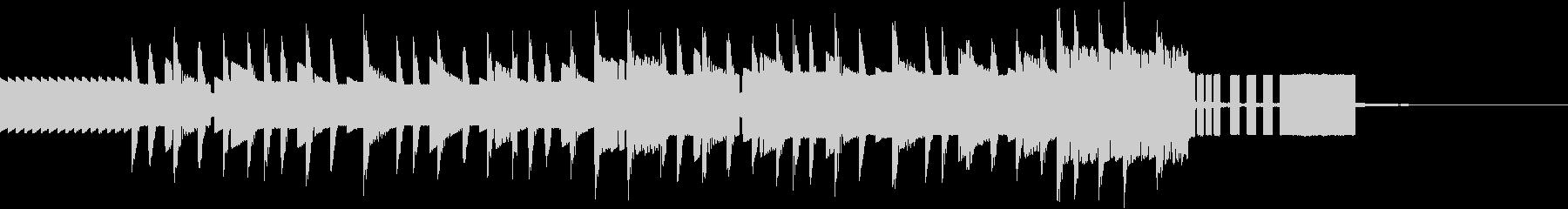 レトロゲー風ジングル/終了画面用の未再生の波形