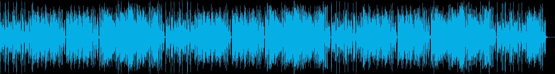 コミカル/静かめの再生済みの波形