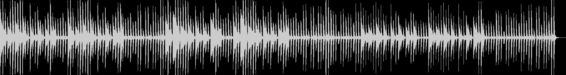 ピアノ レトロで悲しげ・明治大正・中世の未再生の波形