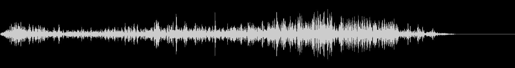ガルルルル (大型の獣が唸る声)の未再生の波形