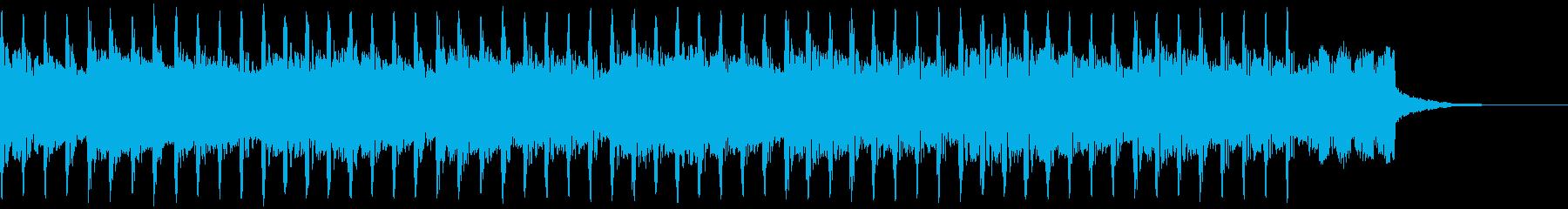 機関(30秒)の再生済みの波形