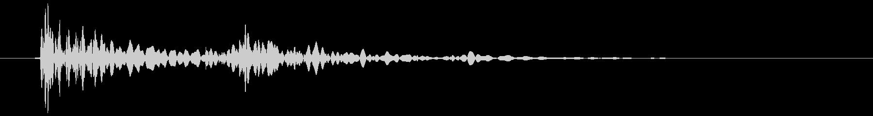 パネルタイプ2バックルの未再生の波形