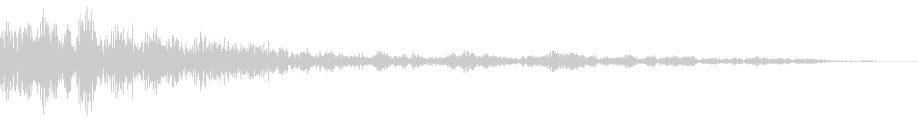 ホラー系アタック音27の未再生の波形