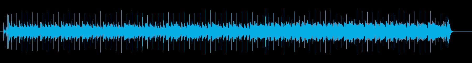 穏やかに盛り上がるミディアム・ポップスの再生済みの波形