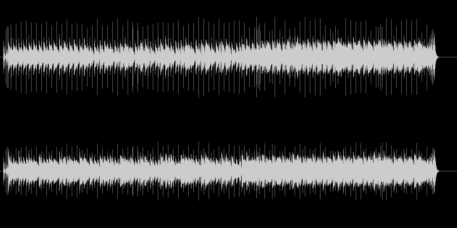 穏やかに盛り上がるミディアム・ポップスの未再生の波形
