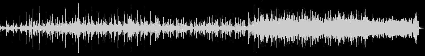 ピアノがメインのバラードの未再生の波形