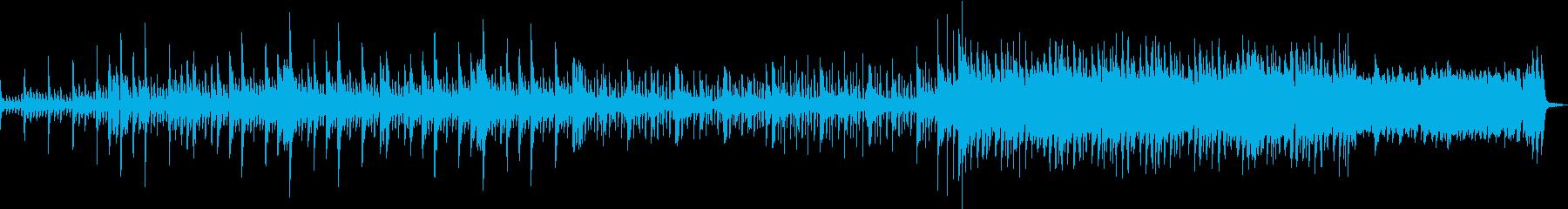 ピアノがメインのバラードの再生済みの波形