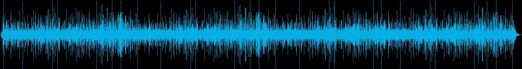 チョロチョロの再生済みの波形