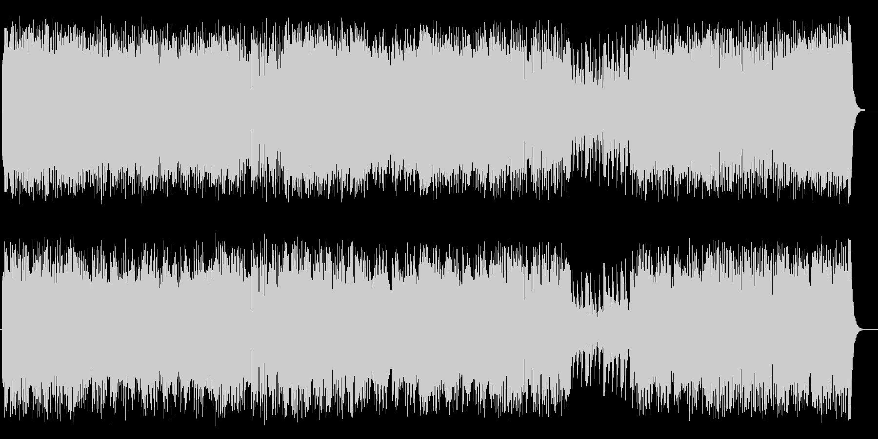 明るく爽やかシンセピアノサウンドの未再生の波形
