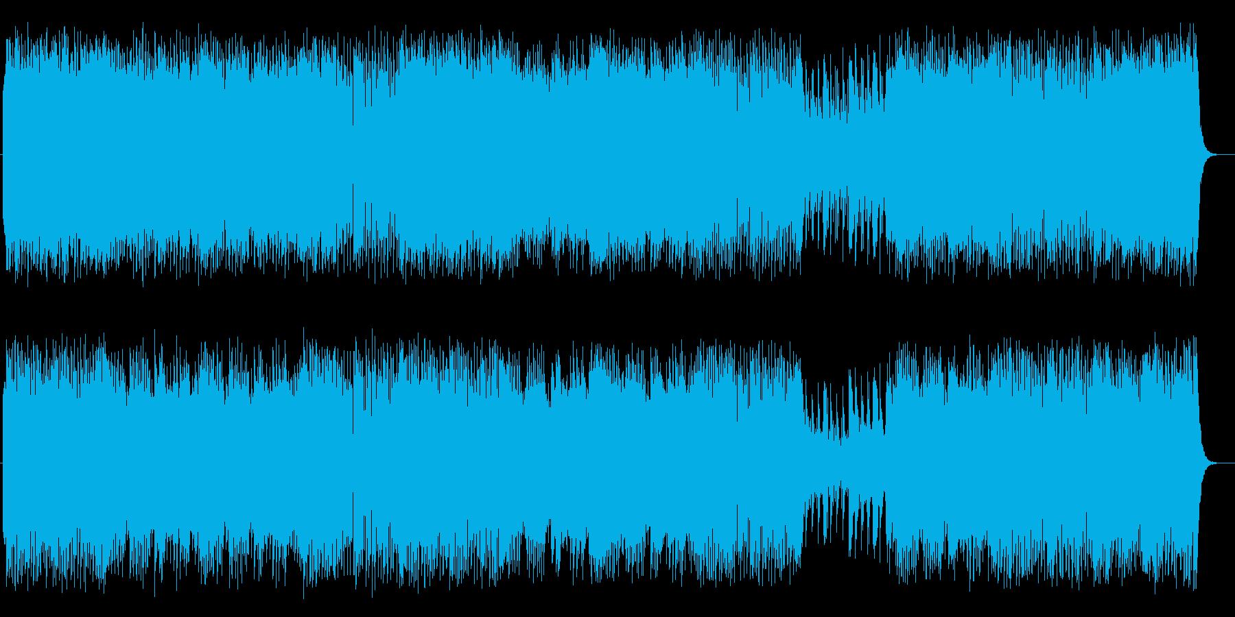 明るく爽やかシンセピアノサウンドの再生済みの波形