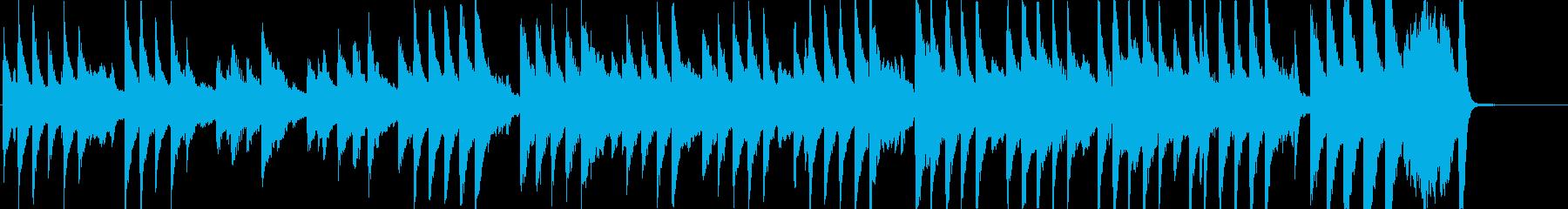 ハッピーバースデートゥーユー_ピアノ伴奏の再生済みの波形