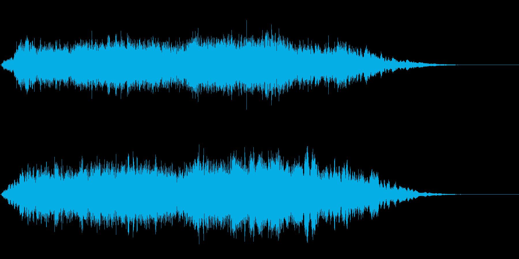 Dark_ホラーで怪しく神秘的-02の再生済みの波形