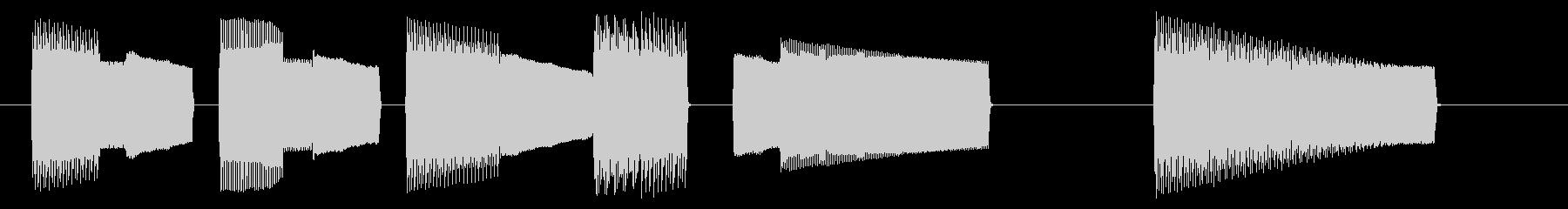 NES アクションB04-4(ゲームオーの未再生の波形