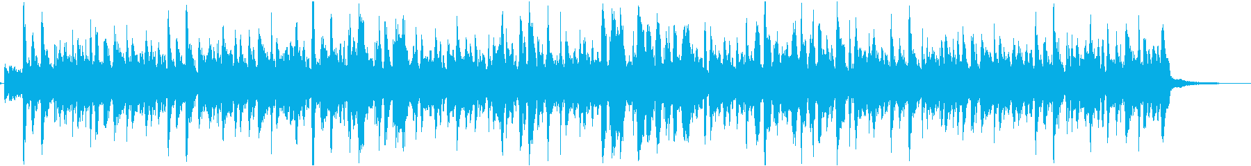 きゅうりをテーマにした楽曲の再生済みの波形