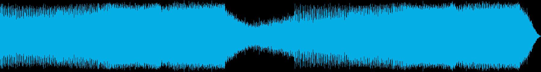 テレビゲーム 電子打楽器 ハイテク...の再生済みの波形