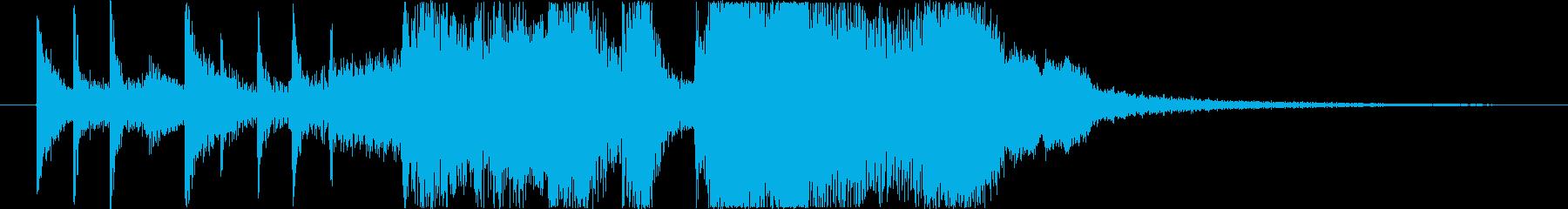 ファンキーなエレクトリックピアノ、...の再生済みの波形