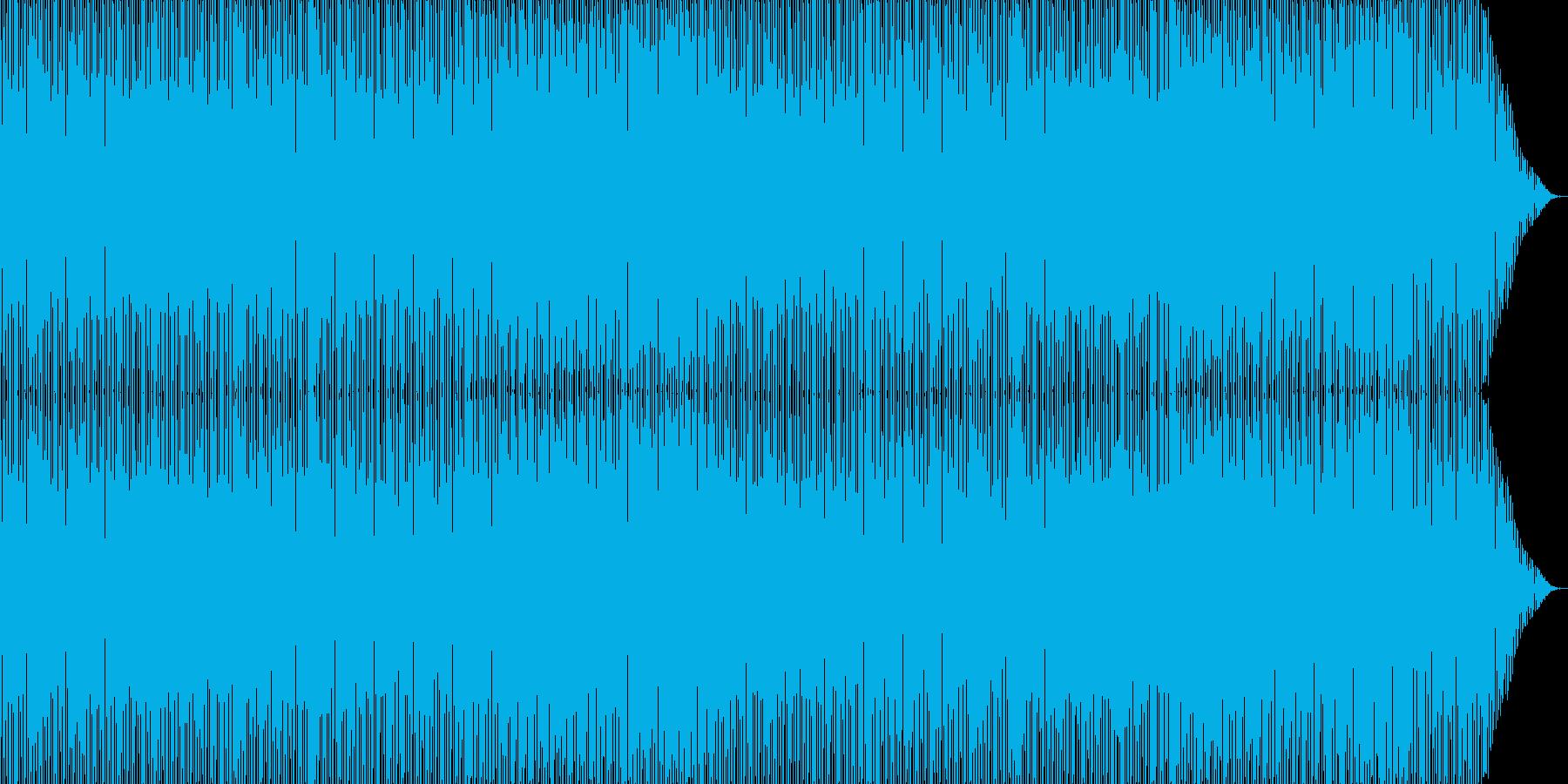 ニュースのBGMで効果的です。の再生済みの波形