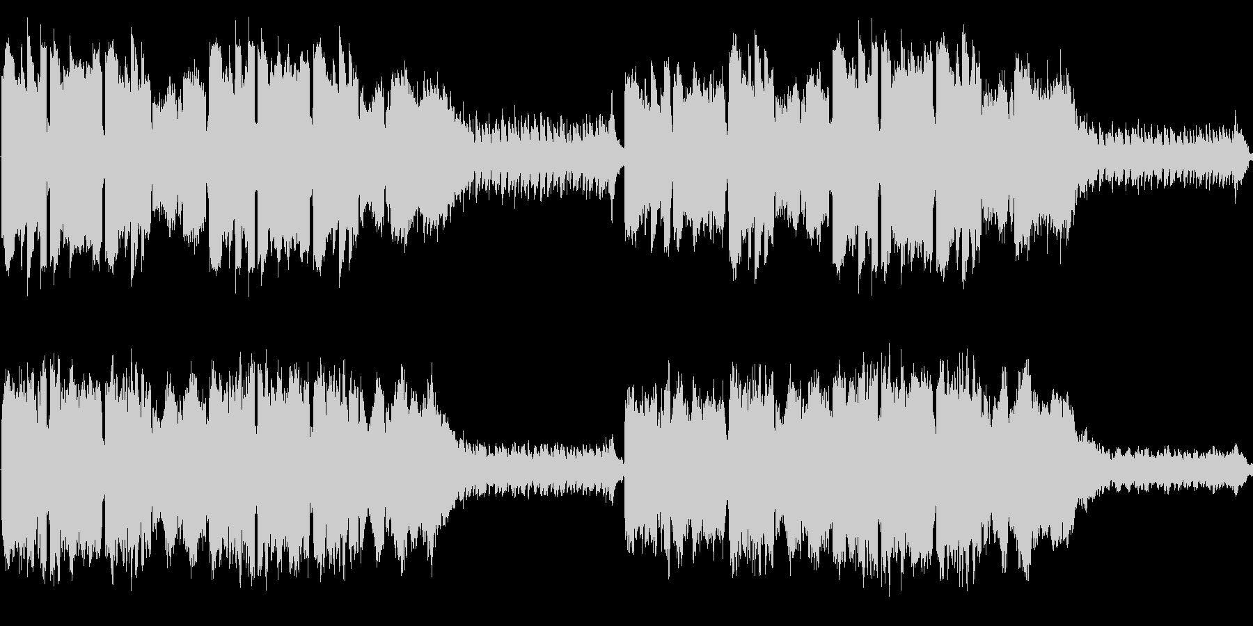 オカリナとギターがメインの温かでほのぼ…の未再生の波形