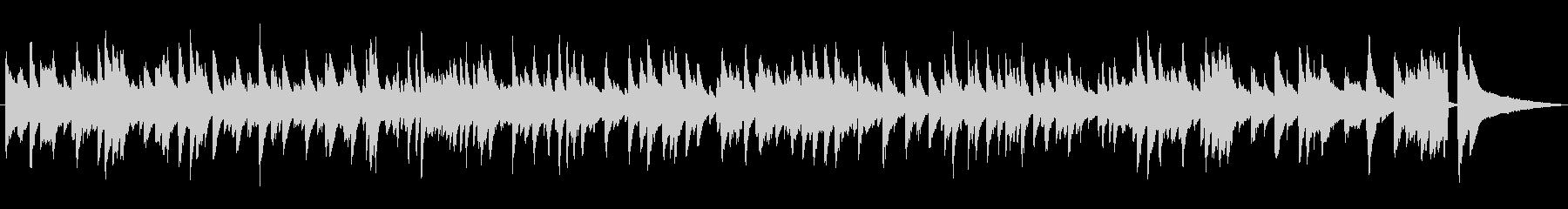 雰囲気のあるジャズラウンジピアノソロの未再生の波形