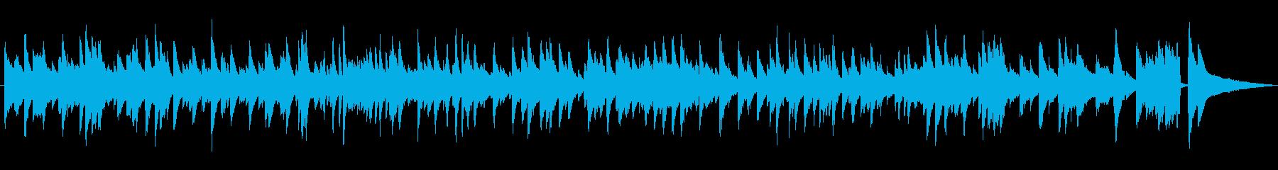 雰囲気のあるジャズラウンジピアノソロの再生済みの波形