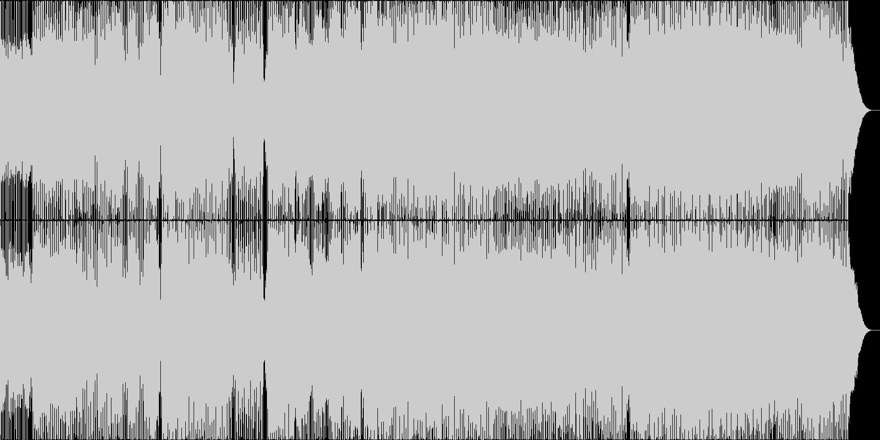 ヒーローの条件の未再生の波形