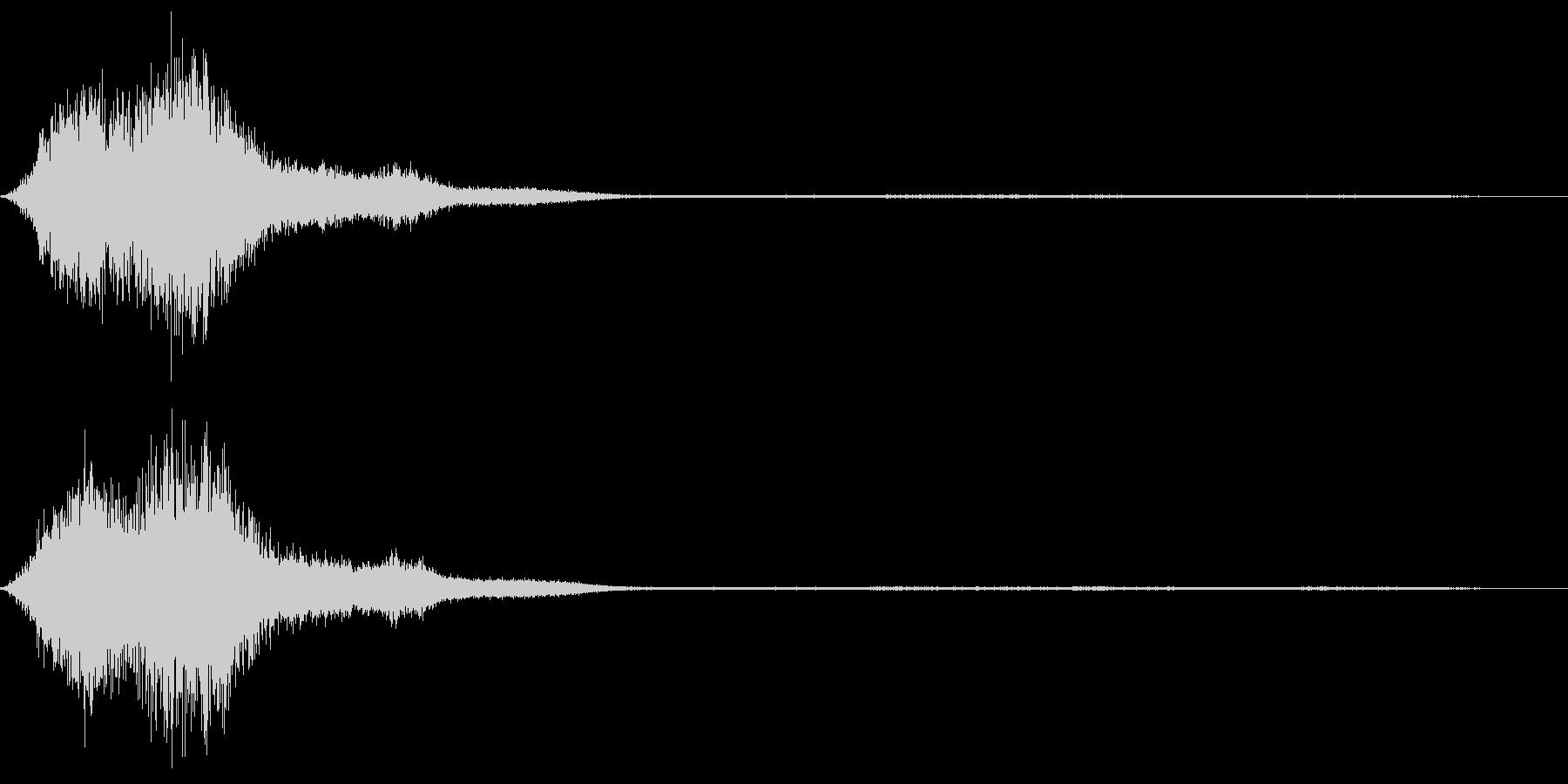 CINEMATIC DARK HELLの未再生の波形