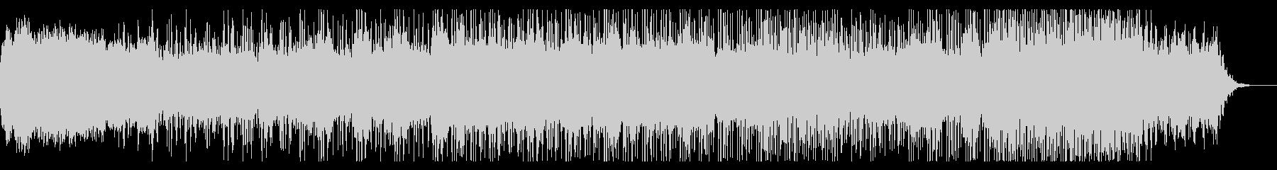 ミステリアスなアンビエントIDMの未再生の波形