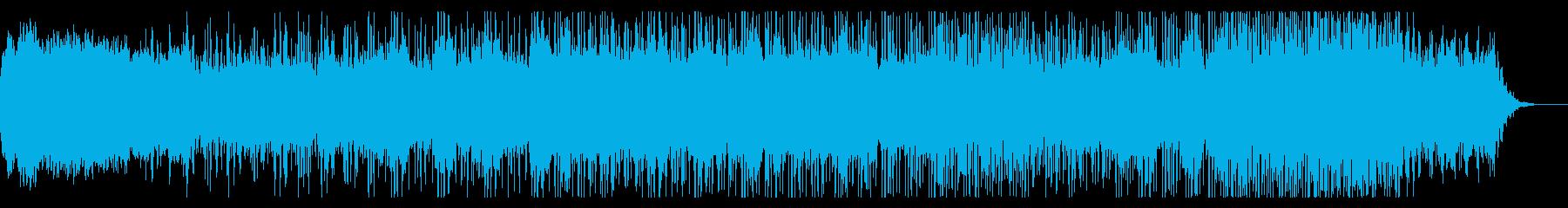 ミステリアスなアンビエントIDMの再生済みの波形