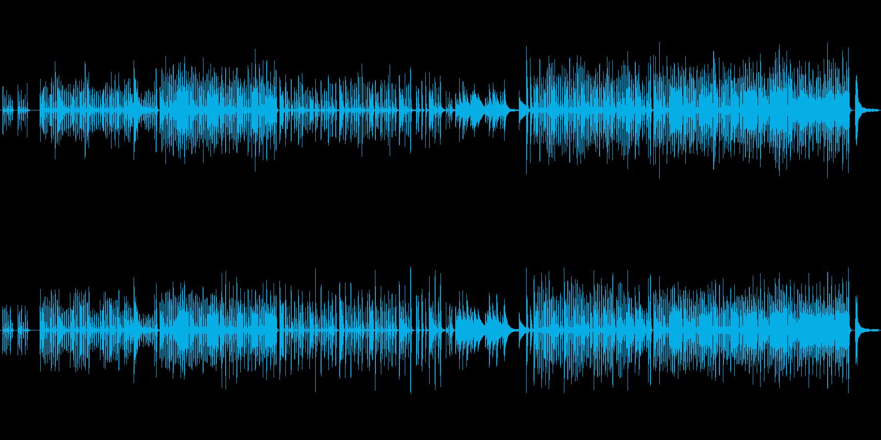 無邪気で軽いピタゴラスイッチ風のBGMの再生済みの波形
