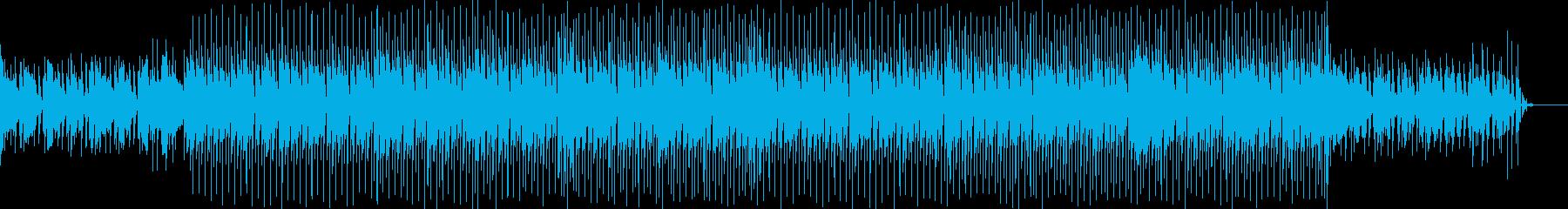 優しさと爽やかさに溢れた軽快なBGMの再生済みの波形