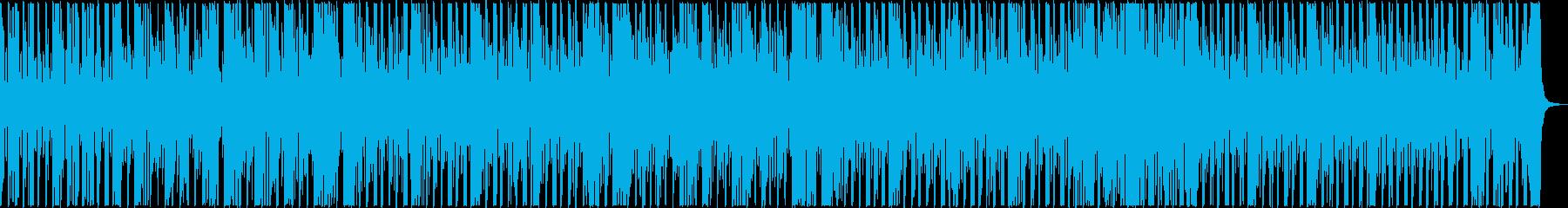 煌びやかなピアノとストリングスのワルツの再生済みの波形