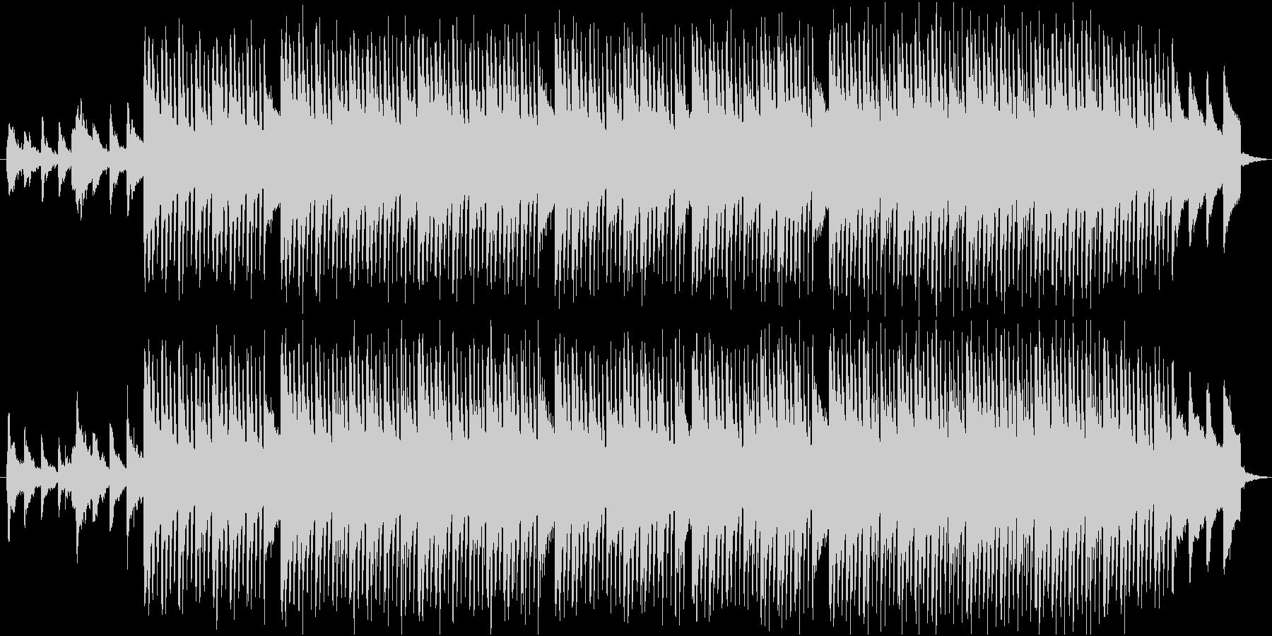 【コーポレート音楽】落ち着くトロピカル③の未再生の波形