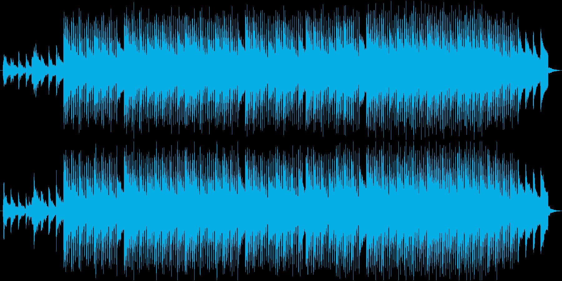 【コーポレート音楽】落ち着くトロピカル③の再生済みの波形