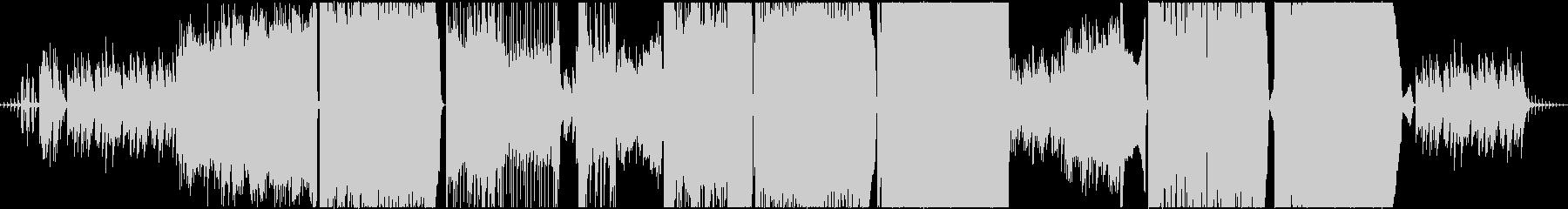 センチメンタルな王道バラードの未再生の波形