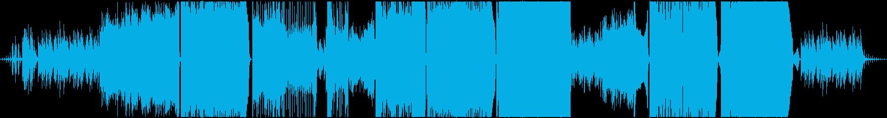 センチメンタルな王道バラードの再生済みの波形