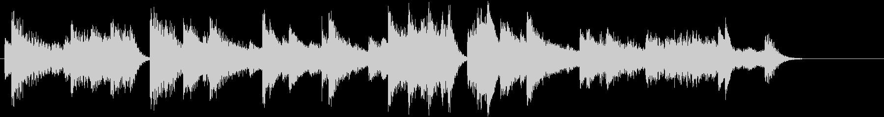 節分!鬼のパンツモチーフピアノジングルBの未再生の波形
