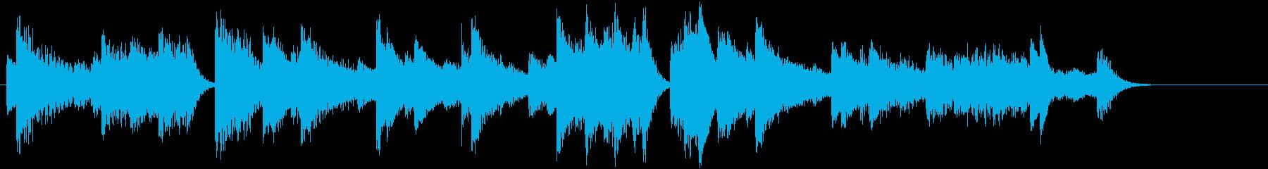 節分!鬼のパンツモチーフピアノジングルBの再生済みの波形