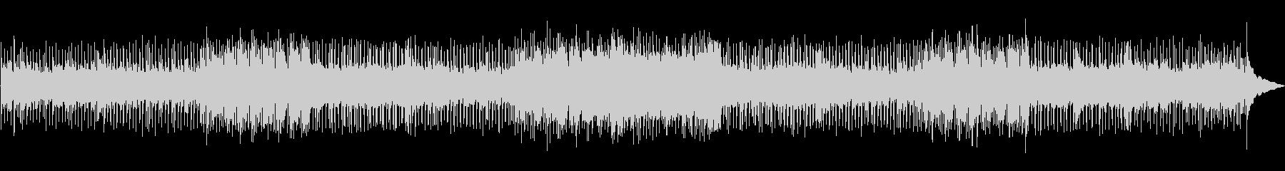 重厚でスローなロックの未再生の波形