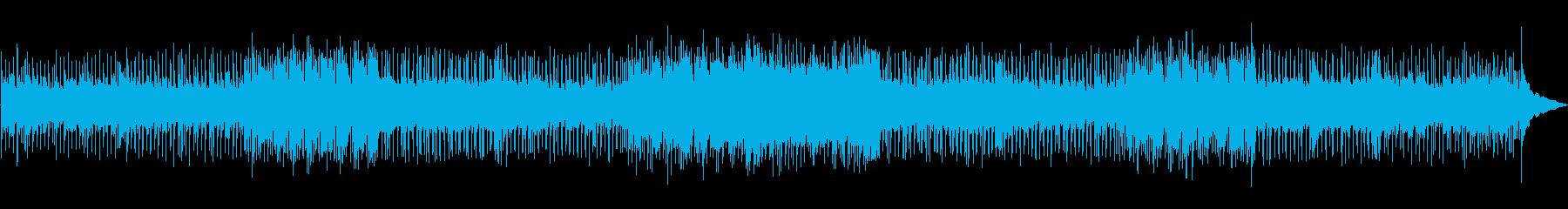重厚でスローなロックの再生済みの波形