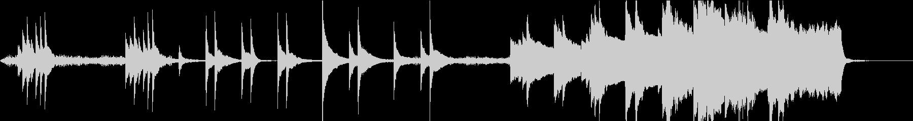 ダークファンタジーな雰囲気のBGM-Sの未再生の波形