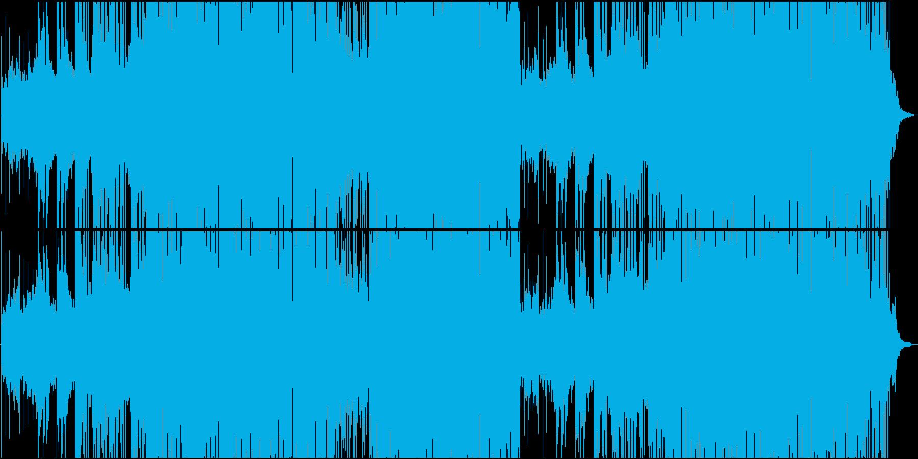 大らかゆったりラテンリズムが楽しいEDMの再生済みの波形