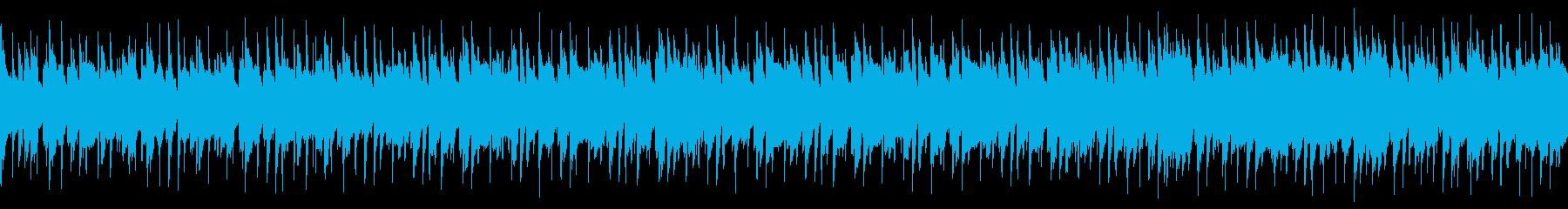 【ループ】ポップで明るい/気持ちが弾む曲の再生済みの波形
