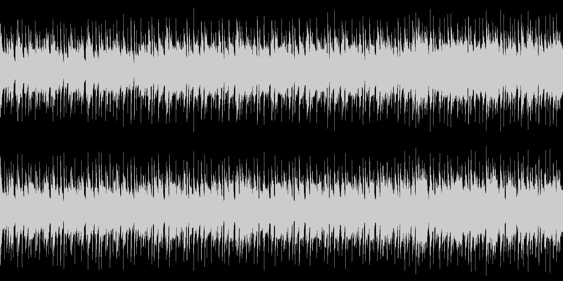 【ループ】ポップで明るい/気持ちが弾む曲の未再生の波形