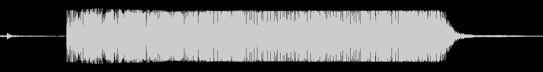 ギターメタルパワーコードhの未再生の波形